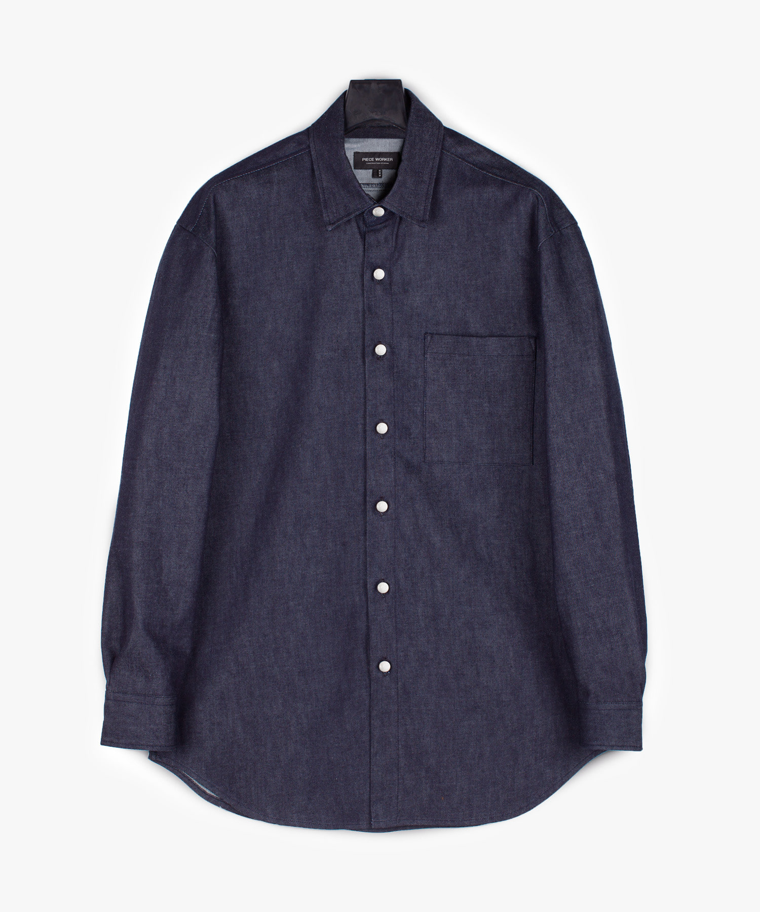 Street Denim Shirt - Indigo